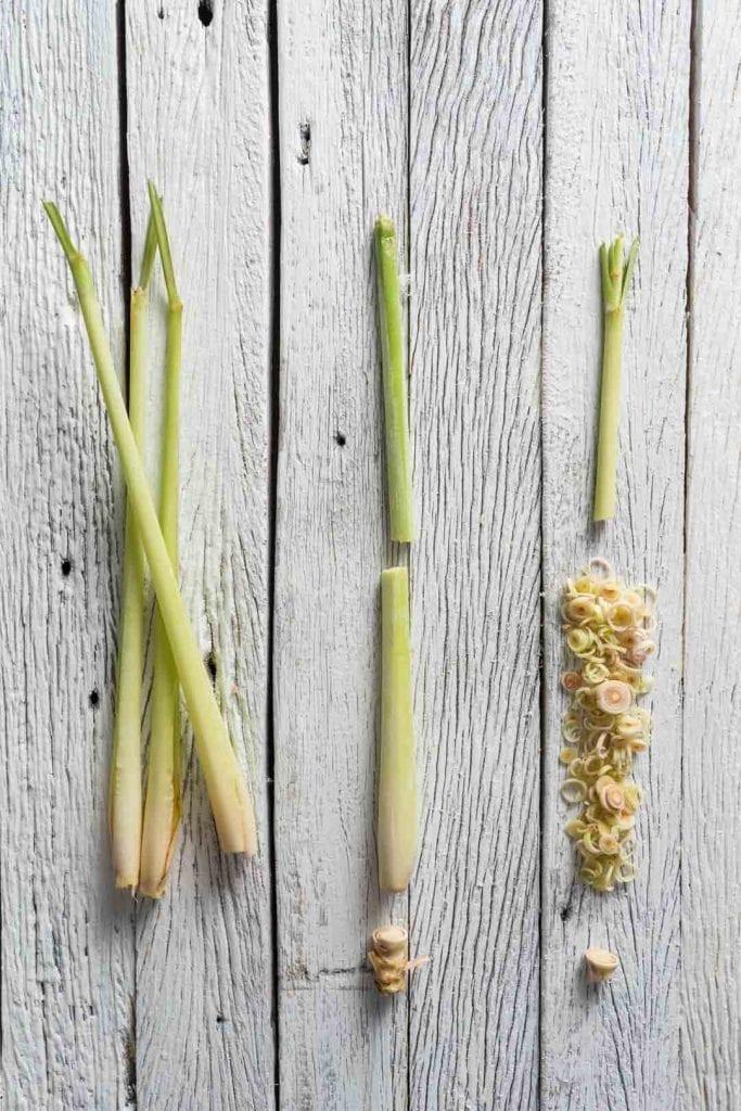 chopped lemongrass
