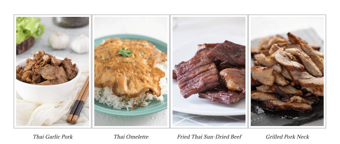 Thai dishes to enjoy with nam jim jaew