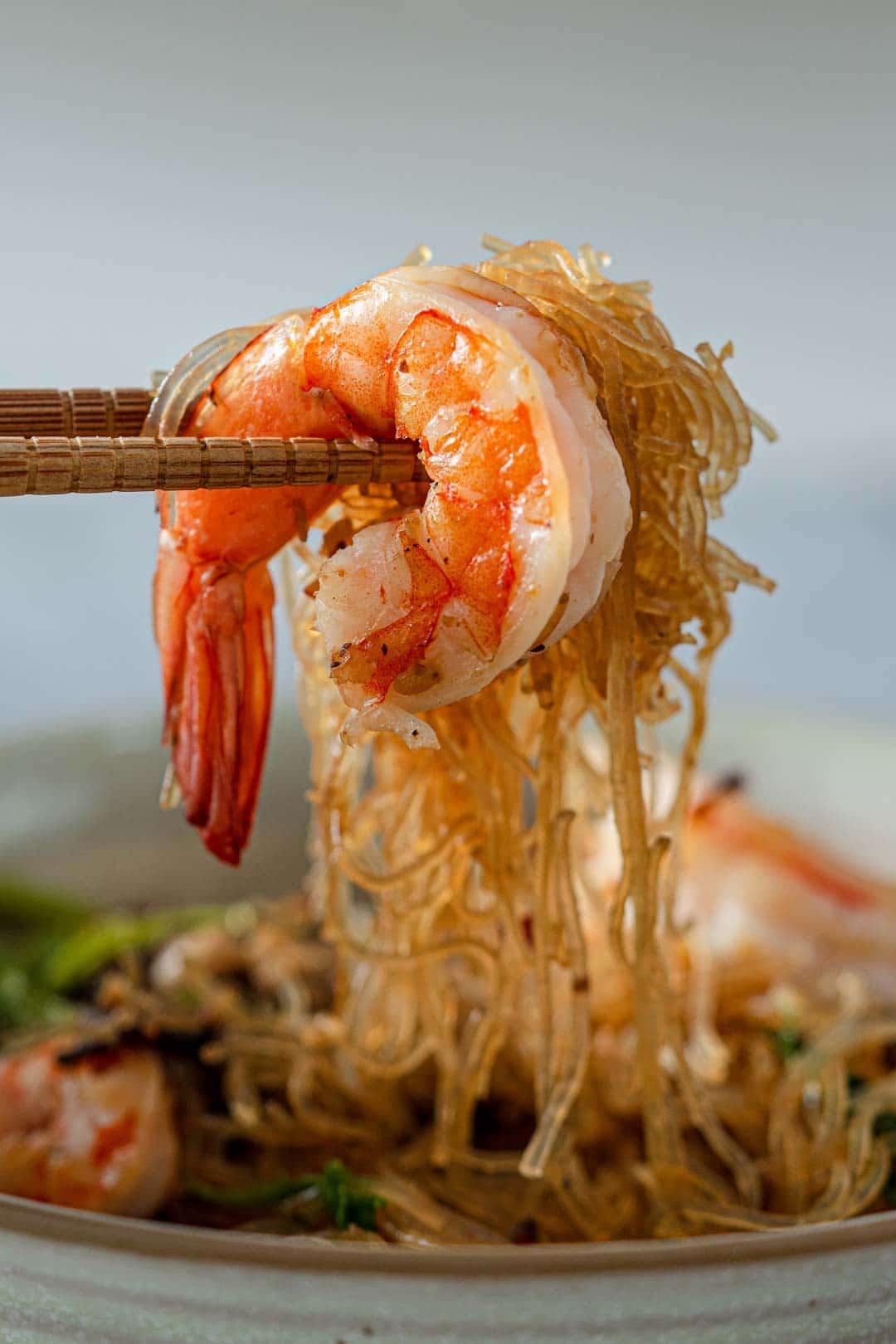 a bite of goong ob woonsen