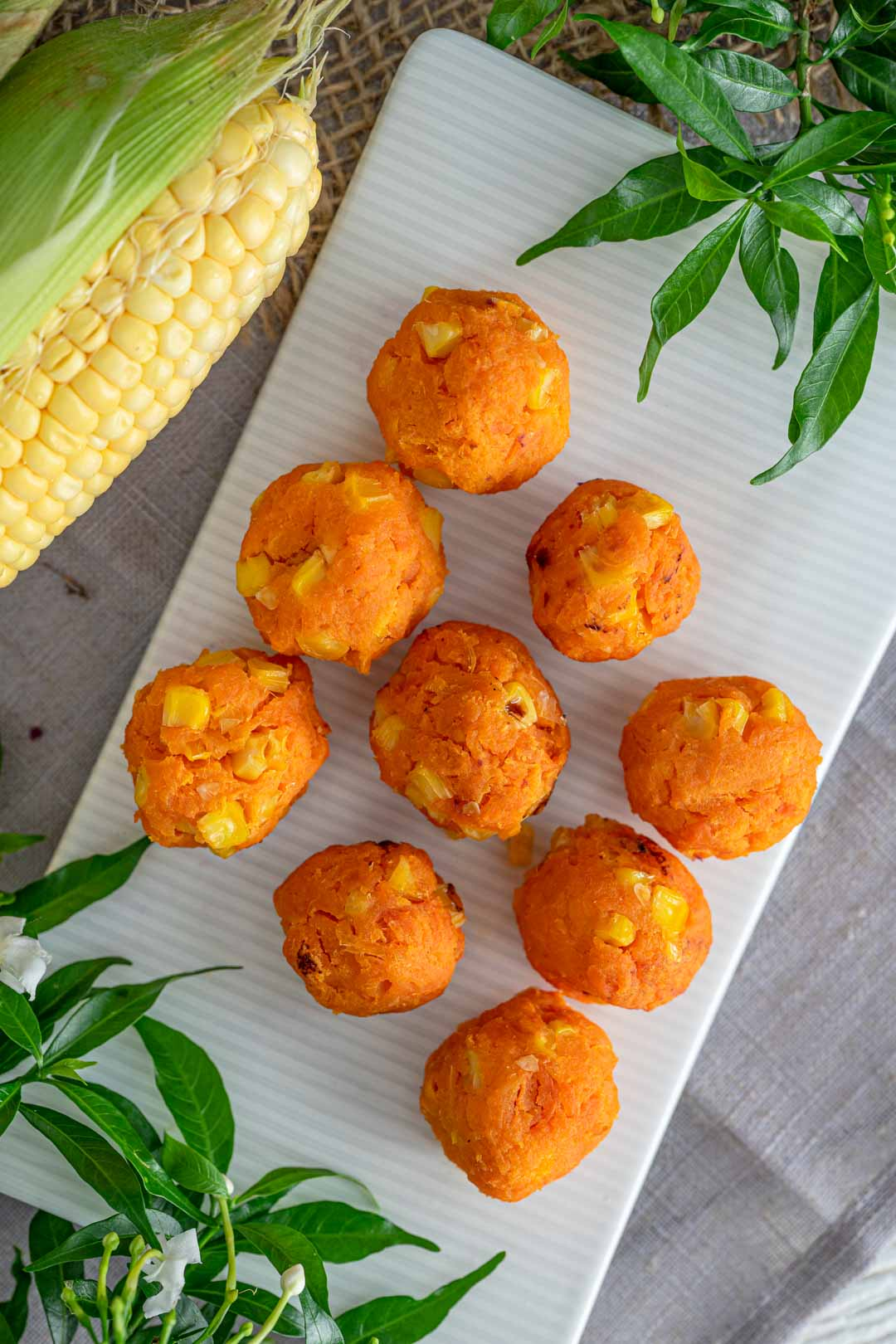 sweet potato finger food